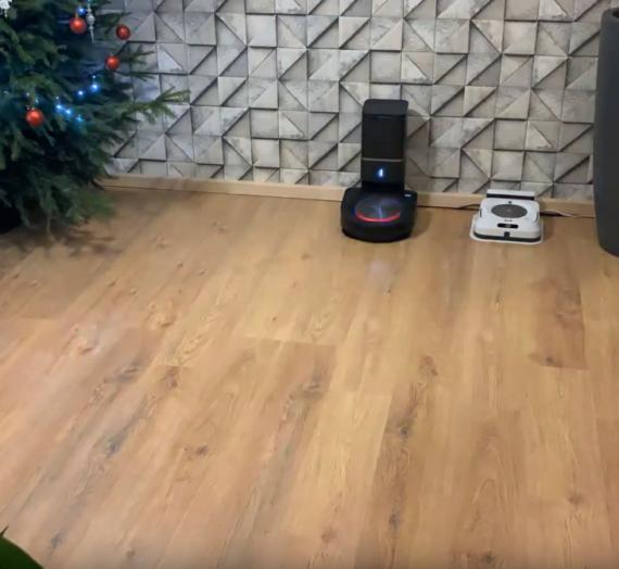 Roomba S9+ tandēmā ar Brava Jet M6